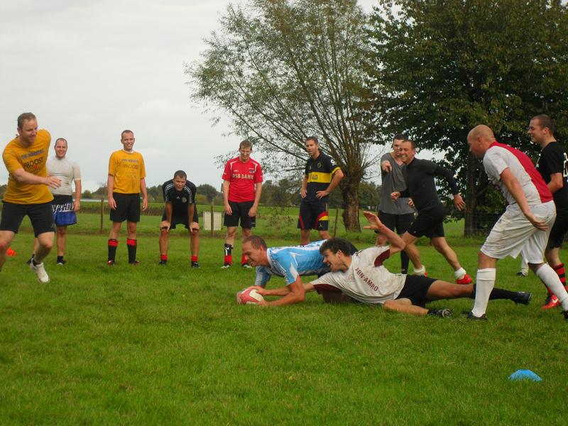 Vriendenuitje Rugby Sjoerd