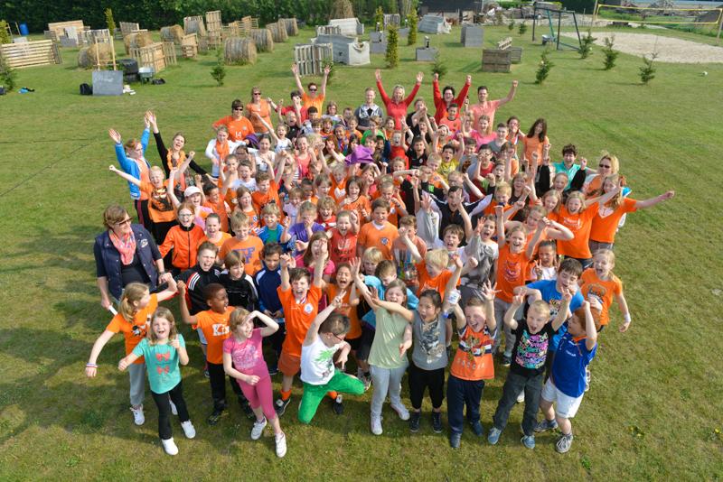 Basisschool uitje: Koningsspelen de Spoorzoeker uit Breda