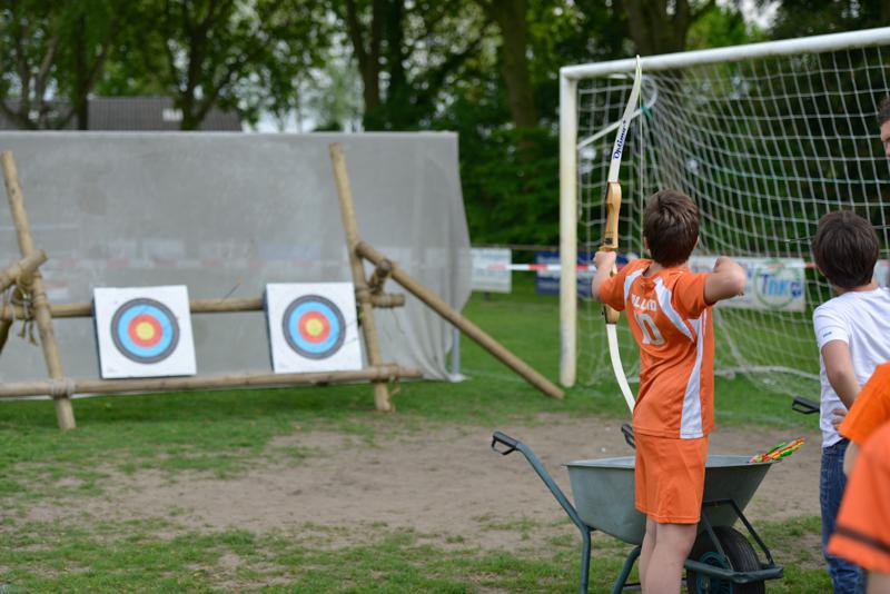 Voetbaluitje op locatie - Koningsdag Voetbalclub Wagenberg