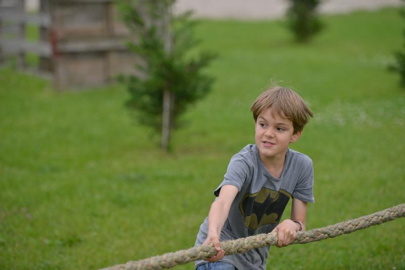Kinderfeestje Tom - 9 jaar uit Vught - hindernisbaan