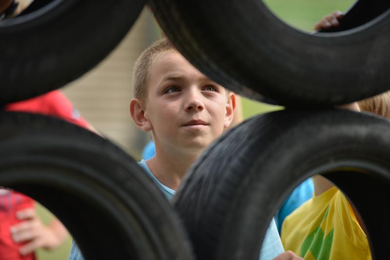 Kinderfeestje Lorenzo - 10 jaar uit Breda - zeepbaan