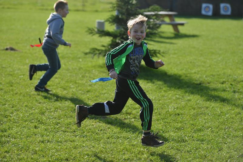 Kinderfeestje Finn - 8 jaar uit Moerdijk - zeskamp
