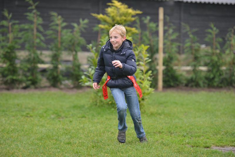 Kinderfeestje Tim - 9 jaar uit Lage Zwaluwe - zeskamp