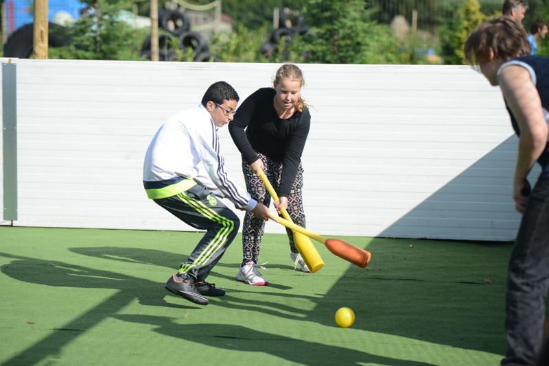 Tampon-hockey-tieners-activiteiten