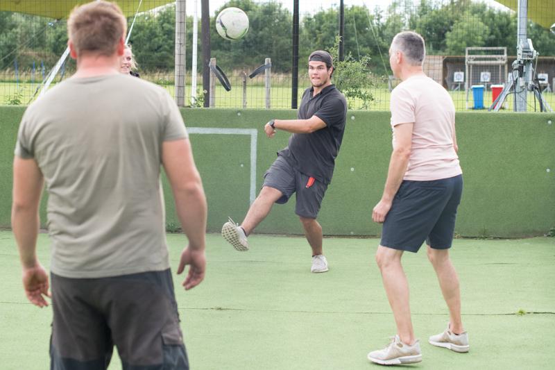 Voetbal-tieners-activiteiten