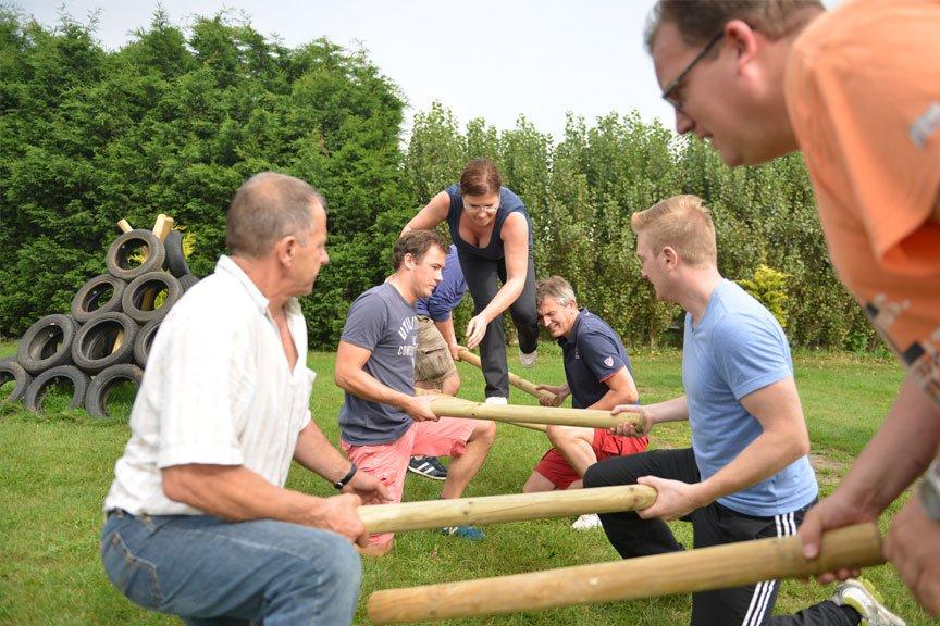 Activiteiten vriendengroep balkenrace Polderevents