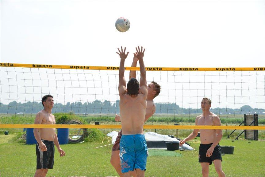 Activiteiten vriendengroep volleybal Polderevents
