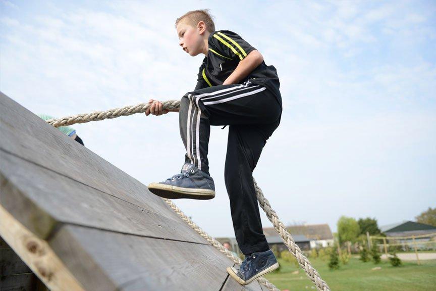 Activiteiten kinderfeestje Hindernisbaan Polderevents