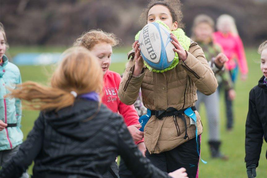 Activiteiten kinderfeestje Rugby Polderevents