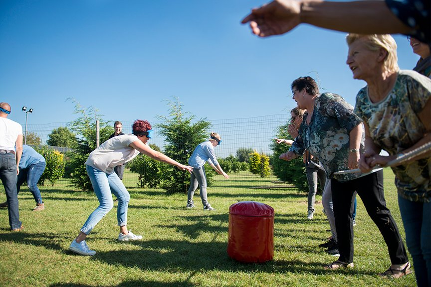 stoelendans groepsuitje activiteit Polderevents