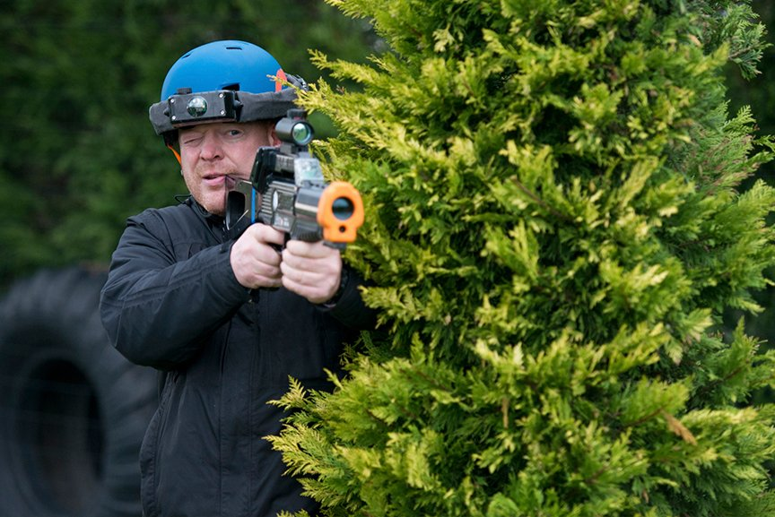 Outdoor lasergame Polderevents