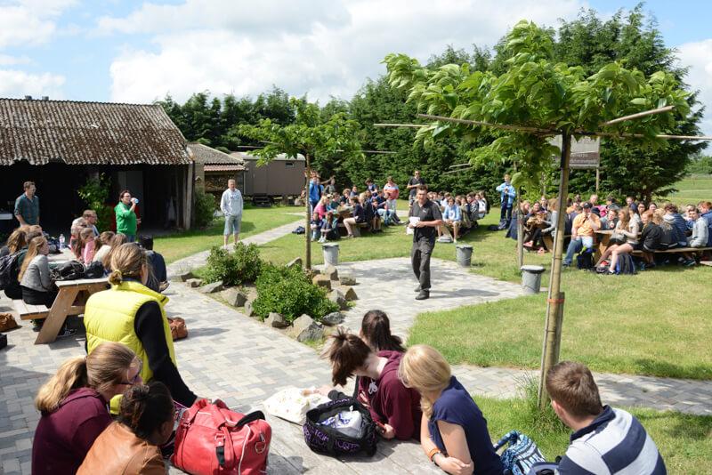 Schooluitje locatie Polderevents in omgeving Breda