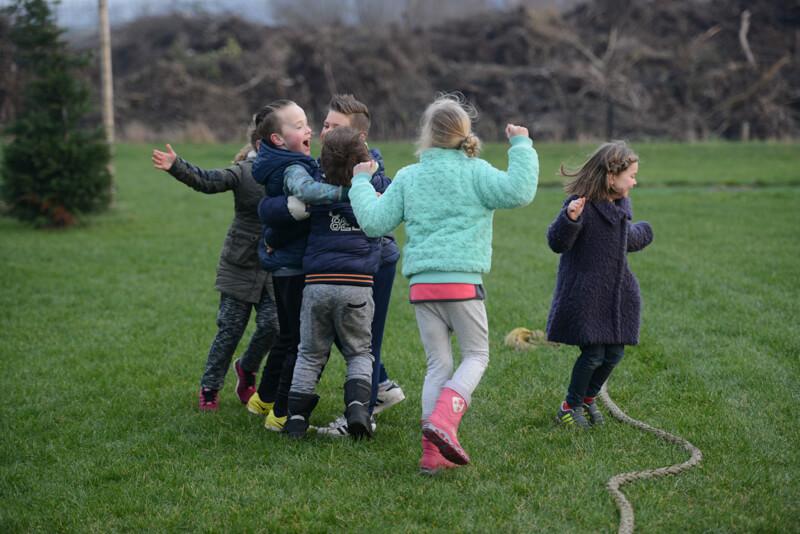 Enthousiast tijdens schooluitje bij Polderevents in omgeving Breda
