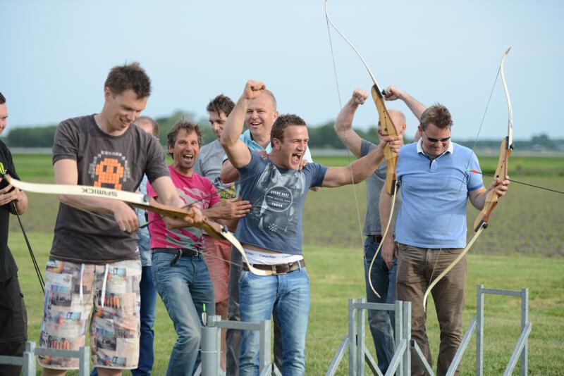 Enthousiast tijdens vrijgezellenfeest bij Polderevents in omgeving Breda