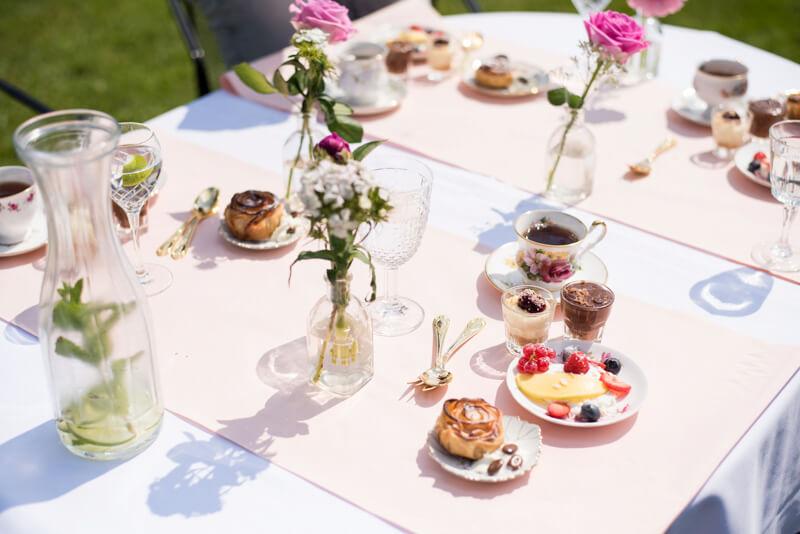 High tea tijdens vrijgezellenfeest bij Polderevents in omgeving Breda