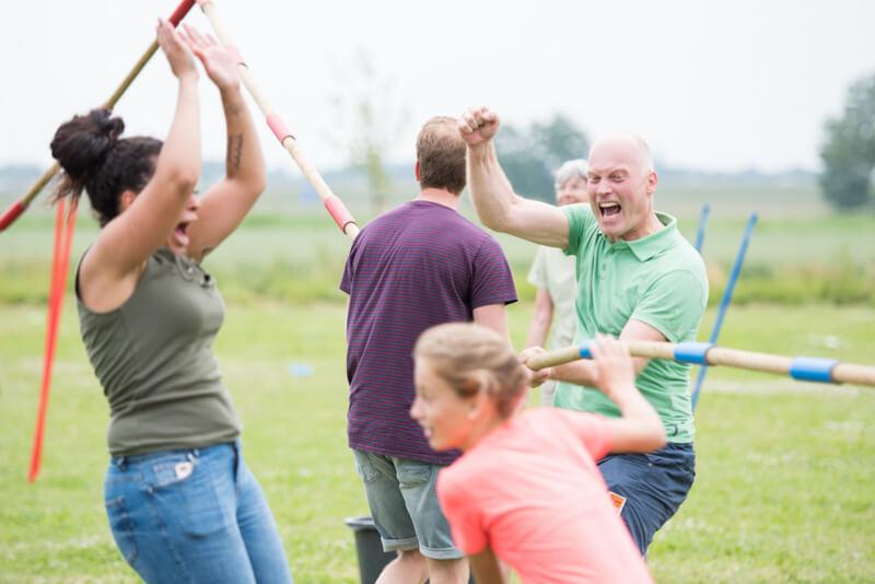Enthousiast tijdens familiedag bij Polderevents in omgeving Breda