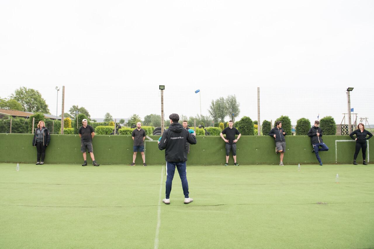 Trainingsdag stage lopen in de sport bij Polderevents
