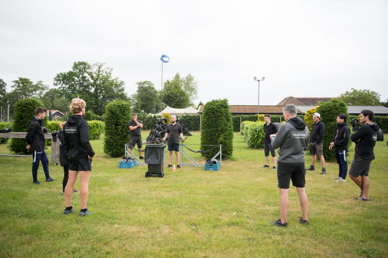 Training stage lopen in de sport bij Polderevents
