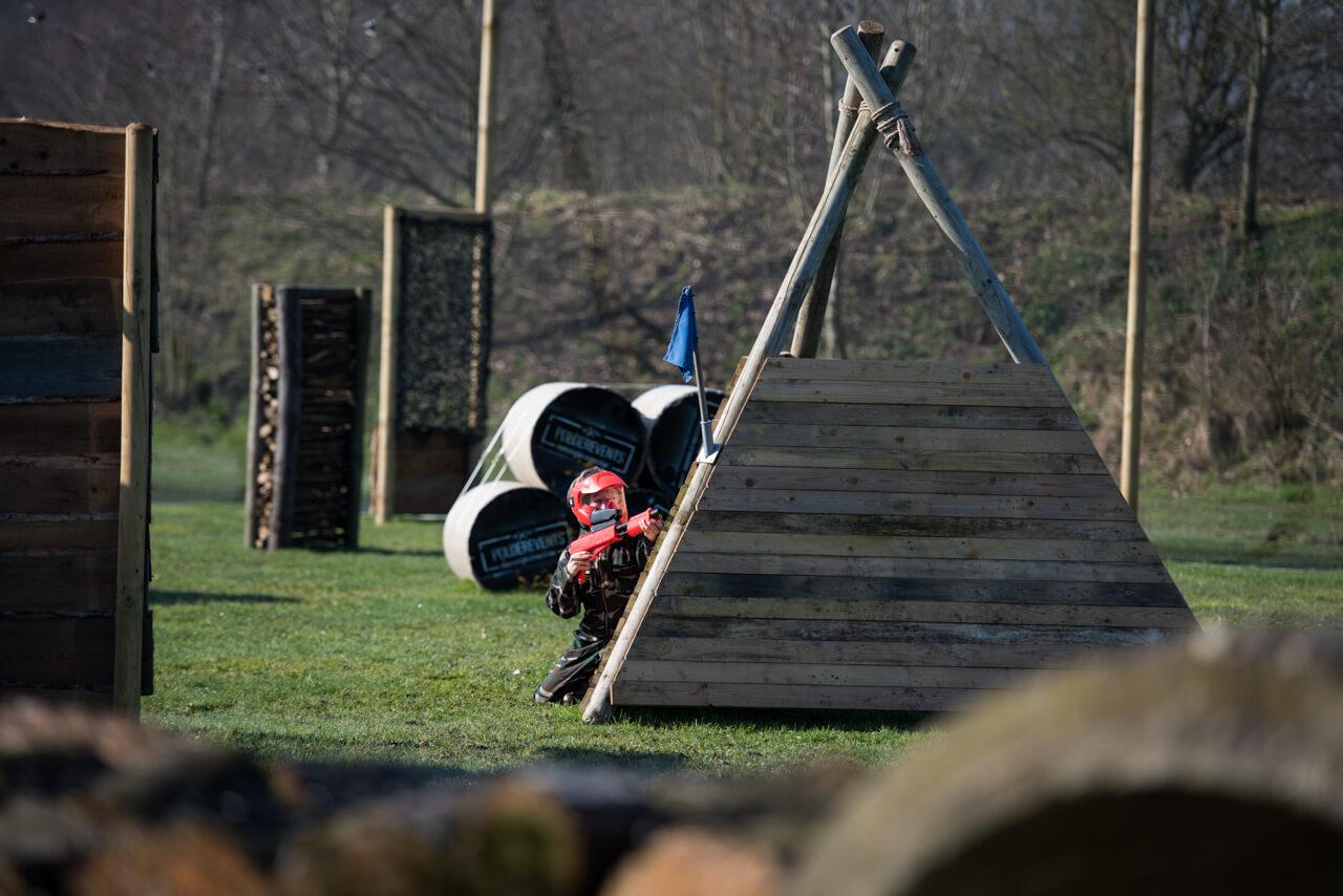 Paintball kinderfeestje in Brabant in de buurt van Breda voor jongens en meiden van 9 t/m 17 jaar | Polderevents
