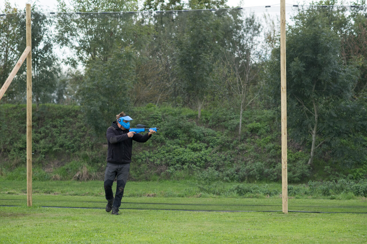 Paintball speelveld - Tommy