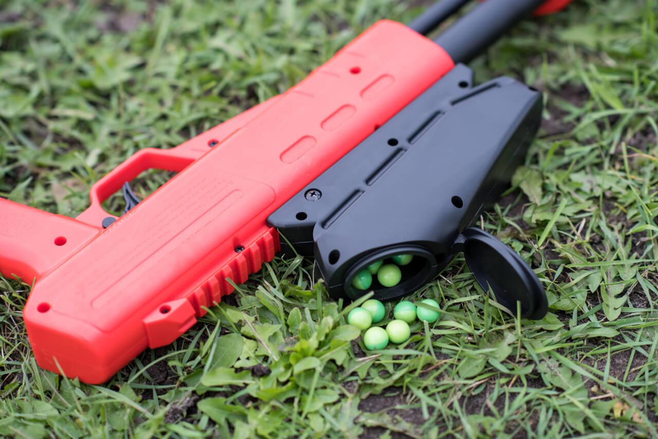 Paintball speelveld - wapen