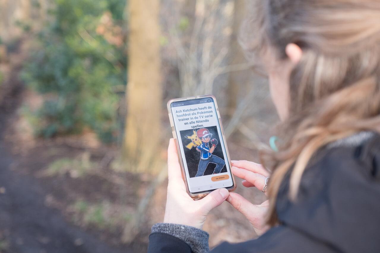 Wandelroute met interactieve spellen - pokemon | Polderevents