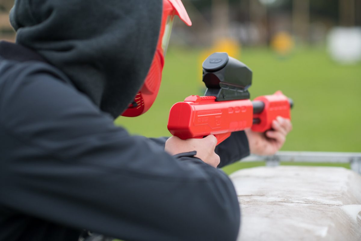 Paintball-tieners