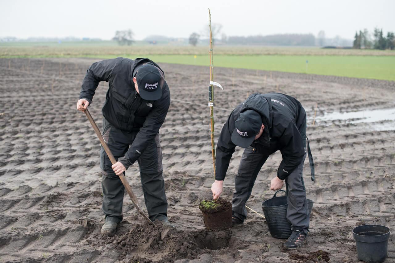 Voedselbos in de polder van omgeving Breda - Polderevents