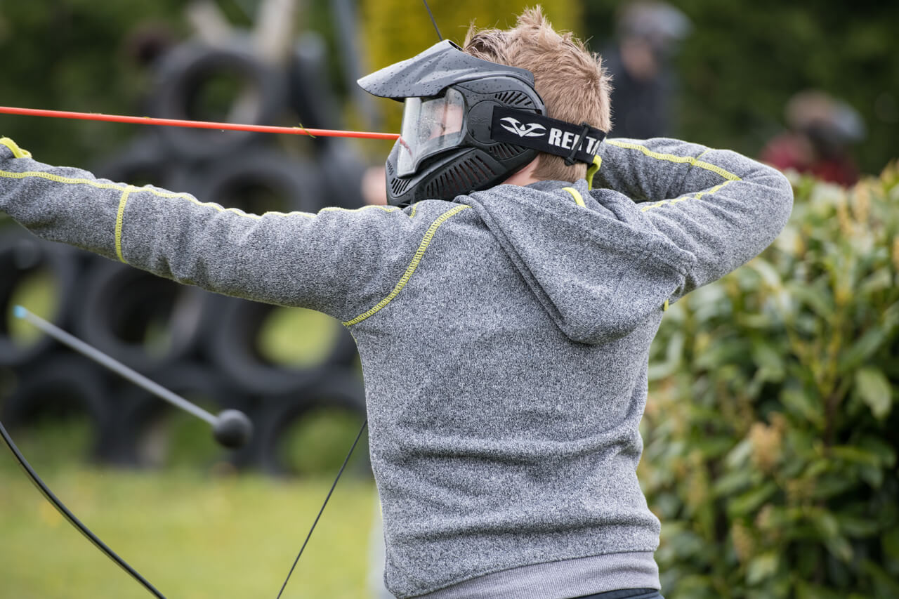 Archery tag jongeren uit gemeente Drimmelen - Polderevents