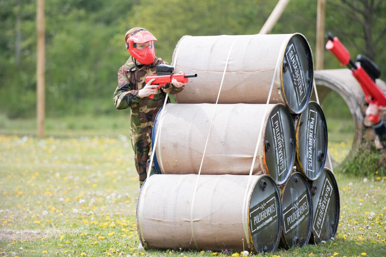Paintball jongeren uit gemeente Drimmelen - Polderevents