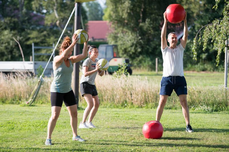 Poldergym-buitenspelen en fitness - Polderevents