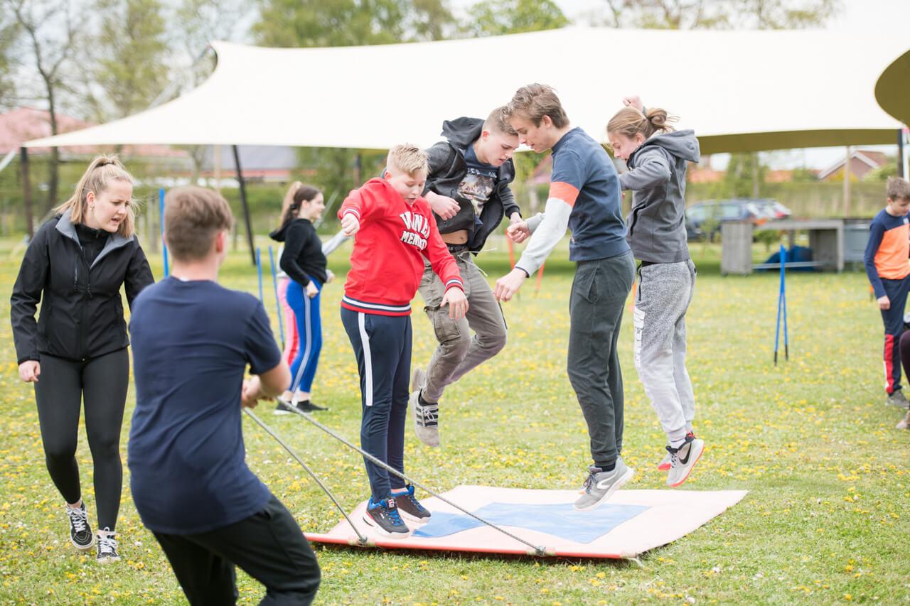 Teambuilding jongeren uit gemeente Drimmelen - Polderevents