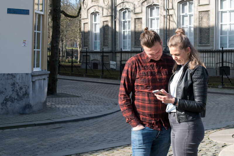 Wandelroute GPS Breda- Polderevents