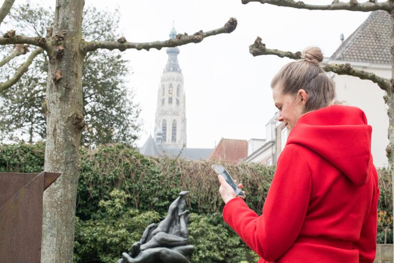Wandelroute met interactieve spellen Breda- Polderevents